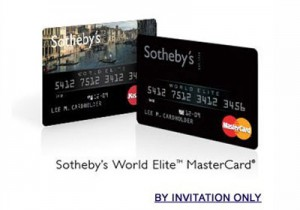 Credit Cards Sothebys World Elite Mastercard